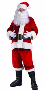 Santa Suit Rich Velvet Costume