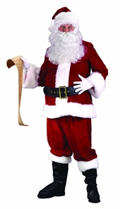 Santa Suit Ultra Vlvt Large Costume