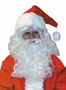 Santa Wig And Beard Dlx Costume
