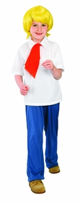Scooby Doo Fred Child Med Costume