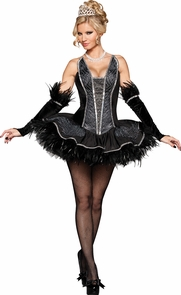 Seductive Swan Large (12-14) Costume