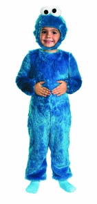 Sesame St Cookie Monster 3t-4t Costume