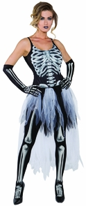 Sexy Skeleton Adult Small Costume