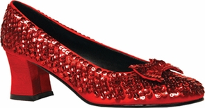 Shoe Sequin Rd Womens Sm 6 Costume