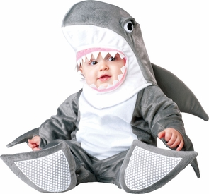 Silly Shark Toddler Sm 12-18m Costume
