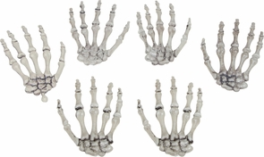 Skeleton Hands Costume