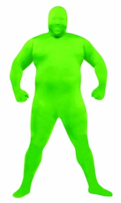 Skin Suit Green Adult Plus Costume