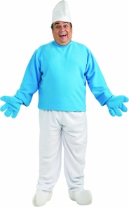 Smurfs Adult Plus Costume