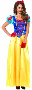 Snow White Classic 2 Pc Xxx Lg Costume