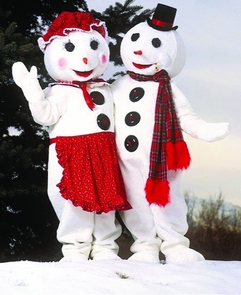 Snowman Mr As Pictured Costume