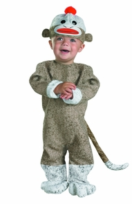 Sock Monkey 12-18 Months Costume