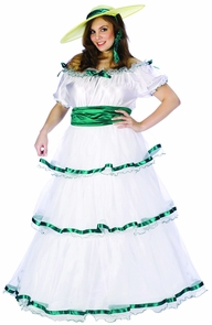 Southern Bell Adult Plus Size Costume