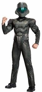 Boy's Spartan Buck Classic Muscle Costume - Halo Costume