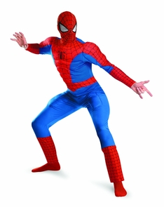 Spider Man Dlx Ad Muscle 50-52 Costume