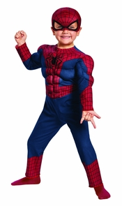 Spiderman 2 Toddler Muscle Costume