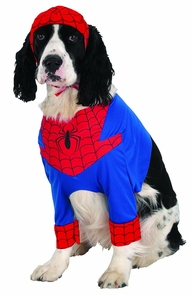 Spiderman Dog Medium Costume