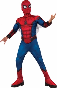 Spiderman Padded Child Large Costume