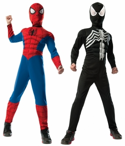 Spiderman Reversible Dlx Child Costume
