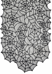 Spiderweb Lace Table Runner Costume