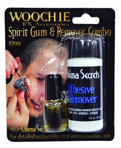 Spirit Gum With Remover Carded Costume