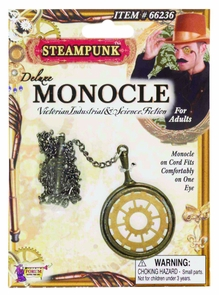 Steampunk monocle costume for Monocle promo code
