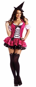 Women's Sugar 'N Spice Witch Costume