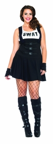 Sultry Swat 3x-4x Costume
