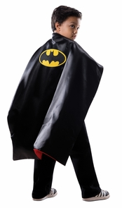 Super Hero Cape Chld Reversble Costume