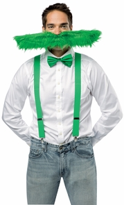 Super Stache Green 20 Inches Costume
