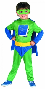 Super Why 4 To 6 Child Costume