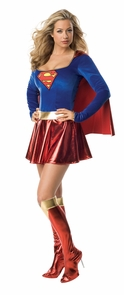 Supergirl 1pc Adult Small Costume