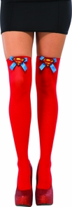 Supergirl Adult Thigh High Costume
