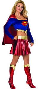Supergirl Adult X Small Costume