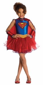 Supergirl Tutu Costume Toddler Costume