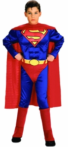 Superman Child W Chest Small Costume