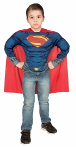 Superman Muscle Shirt Set Chid Costume