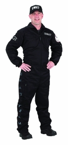 Swat Adult Large Costume