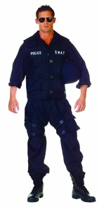 Swat Adult One Size Costume