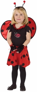 Sweetheart Lady Bug 24mths-2t Costume