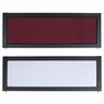 Tabletop Folding Panel Display Board Header Burgundy