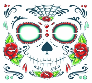 Tattoo Day Of The Dead Costume