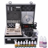 Tattoo Supplies Kit- LCD Power Supply Needle Ink Practice Skin I