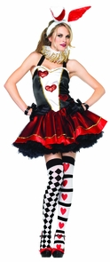 Tea Party Bunny Bk/rd Md/lg Costume