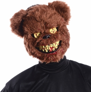 Ted Deadly Bear Mask Costume
