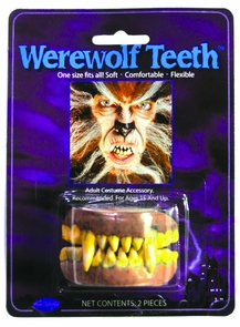 Teeth Werewolf Costume