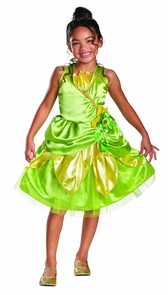 Tiana Sparkle Child Classic 4- Costume