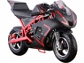 Titan 40cc Gas 4 Stroke Pocket Bike Scooter No fuel Mixing Needed