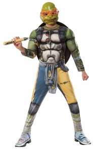 Tmnt2 Michelangelo Child Small Costume