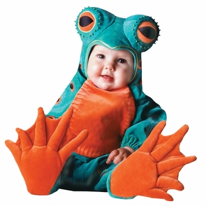 Tom Arma Frog Web 6-12 Month Costume