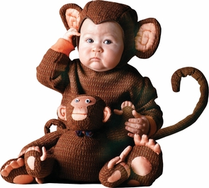 Tom Arma Monkey Web 4t-5toddlr Costume